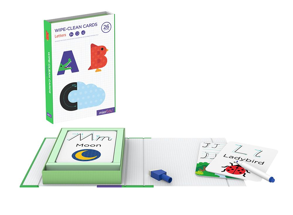 Wipe-clean Activity Sets ~ Letters by mierEdu