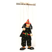 Witch String puppet ~ Marionette ~ puppetry ~ pretend play