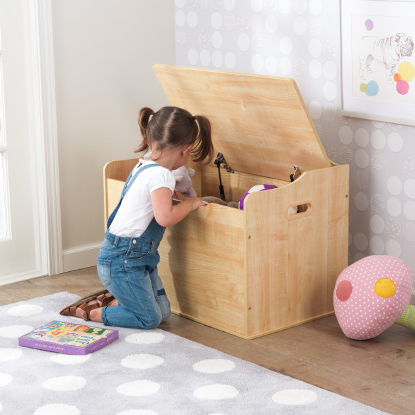 Wooden Austin Toy Box Natural Kidkraft