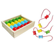 Wooden Lacing Reels by Fun factory