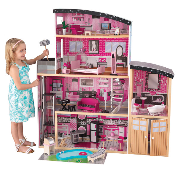Wooden Sparkle Mansion Dollhouse by Kidkraft